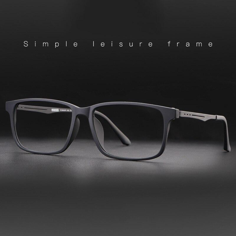 Nowe jakościowe okulary optyczne rama dla mężczyzn i kobiet okulary elastyczne tytanowe nogi świątyni TR 90 ramki przedniej obręczyRamki do okularów   -