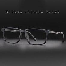 Nowe jakościowe okulary optyczne rama dla mężczyzn i kobiet okulary elastyczne tytanowe nogi świątyni TR 90 ramki przedniej obręczy