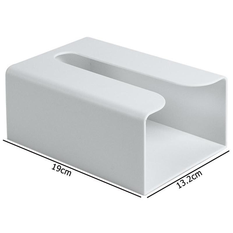 Настенная коробка для салфеток, кухонная коробка для хранения бумаги, держатель для бумажных полотенец, коробки для туалетных салфеток, бумажная коробка для хранения - Цвет: Gray