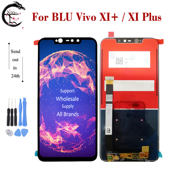 """6.2"""" LCD For BLU Vivo XI+ XI Plus LCD Display Screen Touch Sensor Digitizer Assembly New Replacement AAA Quality XI+ Display"""