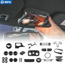 MOPAI автомобильные наклейки для Ford Mustang Автомобильный интерьер из углеродного волокна декоративная крышка для Ford Mustang+ автомобильные аксессуары Стайлинг