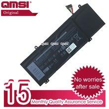 QMSI – batterie originale 1F22N, 15.2V, 60wh, 3750mAh, pour ordinateur portable Dell ALIENWARE 2018 orion M15 M17 Inspiron G5 5590 G7 7590 7790