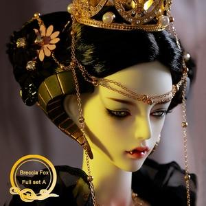 Image 2 - BJD Breccia Fox Doll 1/3 Body Model Boys Girls Oueneifs High Quality Resin Toys Free Eye Balls Fashion Shop Joint Doll