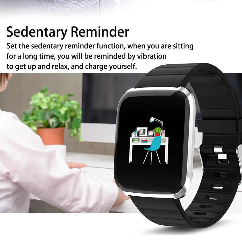 هيمبر ساعة ذكية ساعة ذكية Relogio Inteligente مع معدل ضربات القلب/ضغط الدم للهاتف شاومي أبل ios أندرويد