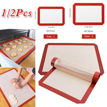 Durable Silicone Baking Mat Non-Stick Cookies Sheet Oven Mat Healthy Homewares