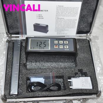 빠른 배송 디지털 광택 미터 GM-26 측정 각도 20/60 학위 휴대용 Smart Glossmeter 0.1 ~ 200 광택 단위 GM26