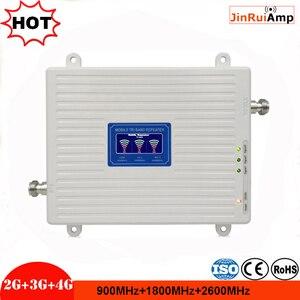 Image 2 - Трехдиапазонный ретранслятор сигнала 2G 3G 4G GSM 900 + DCSLTE 1800 + FDD LTE 2600, усилитель сигнала мобильного телефона, усилитель сотовой связи