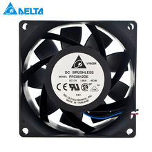 for delta PFC0812DE 8038 3.3A 12V 4 wire PMW doubl
