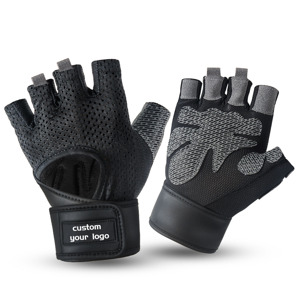 HEHE Workout Gloves Weight Lifting Gloves Palm Support Protection For Men Women Anti-slip Exercise Gloves Sport For Fitness Gym