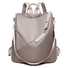 Oxford mulheres mochilas adolescentes sacos de escola moda senhora mochila impermeável e anti-roubo saco de negócios menina saco de livro