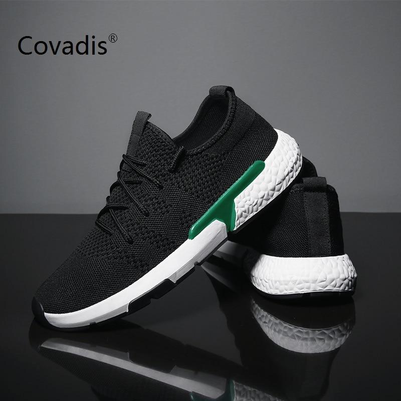 Летняя мужская повседневная обувь модная дышащая обувь на плоской подошве со шнуровкой прогулочная обувь для мужчин уличные кроссовки ... - 2