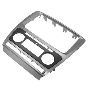 Image 3 - 2 Din Radio Frame konsola do Skoda Octavia 2010 ~ 2013 samochodowy sprzęt Audio Stereo DVD Panel montaż zestaw na deskę rozdzielczą montaż montażowy