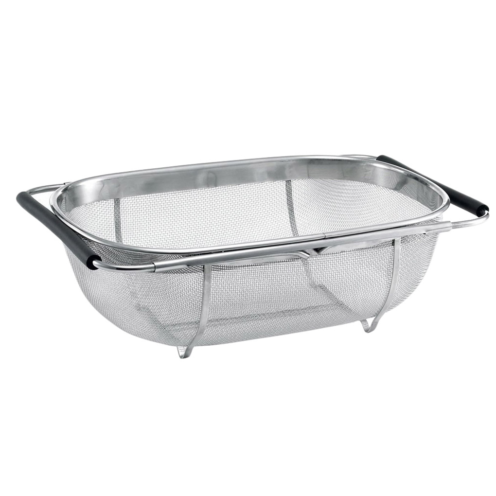 Retractable Drain Basket Rack Stainless Steel Sink Dish Rack Vegetables Basket Kitchen Sink Accessories Drain washing basket