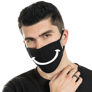 цена на Black Protective Masks Personality Yan Look Funny Masks fang chen mian Mask Printing Mask