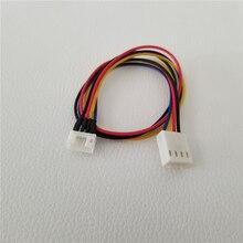 100 Cái/lốc Card Đồ Họa Làm Mát Mini 4Pin Adapter Nối Dài Cáp Nam Đến Nữ 26Cm