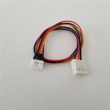 100 pièces/lot carte graphique ventilateur de refroidissement Mini 4Pin adaptateur rallonge câble dalimentation mâle à femelle 26cm