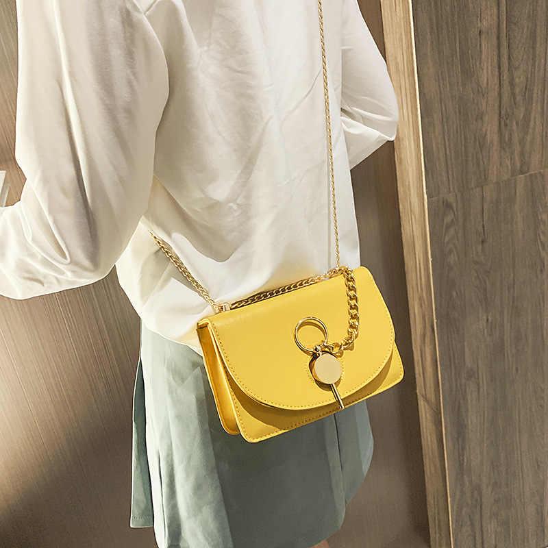 Самая последняя slung небольшой пакеты для сохранения свежести продуктов женские 2019 новая волна; сезон осень модная сумка с цепочкой, сумки через плечо