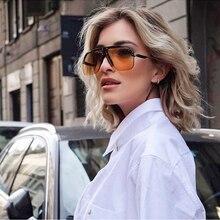 2020 New Oversized Luxury Frame Women Gradient Sunglasses Cl
