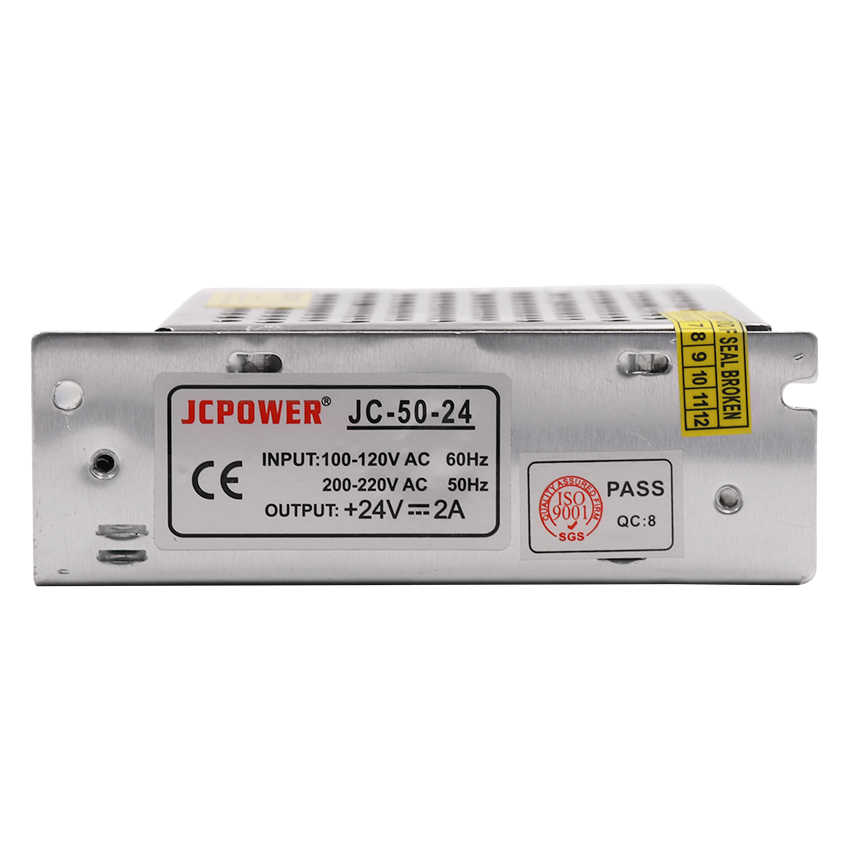 Adaptador de fuente de alimentación conmutada DC 12V 5V 24V fuente de alimentación de tira LED AC 100-240V 24W 36W 120W 200W 240W 360W 400W 500W 600W