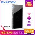 BYINTEK UFO P10 Портативный Умный домашний кинотеатр Карманный Android 7.1.2 OS Wifi мини светодиодный hd-проектор для Full HD1080P MAX 4K at HD