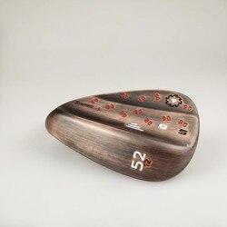 Клюшки для гольфа Db клюшки для гольфа Sm6 черный/медь/серебристый 50/52/54/56/58/60 стальная крышка Бесплатная доставка