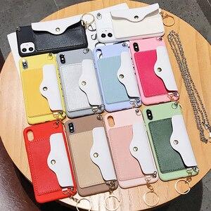 Посылка для карт мягкий силиконовый телефон для OPPO R17 Findx 2 F9 PRO F1 R15 R11 R9 S PLUS A7X U1 Reno-Z 3 ACE x2 сумка через плечо задняя крышка
