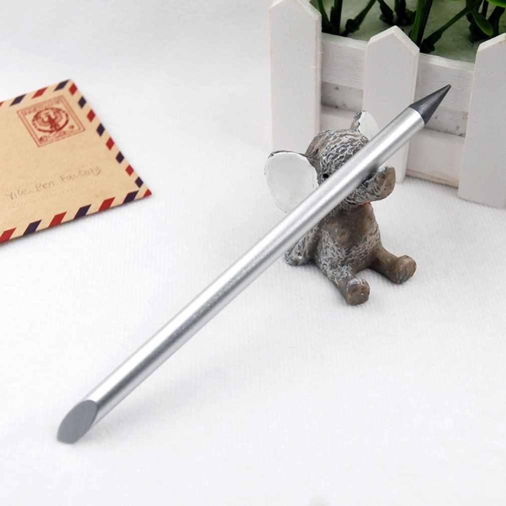 Creativo Inkless Penna di Metallo Penna Penna Studente Penna Della Cancelleria Del Metallo di Affari di Penna Firma Penna di Forniture per Ufficio