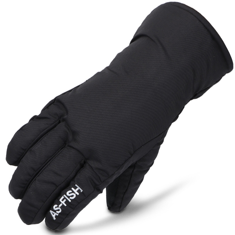 1 Pair Adults/Kids Winter Ski Gloves Snowboard Gloves Anti-slip Waterproof  Sonw Warm Fleece Motorcycle Snowmobile Riding Gloves