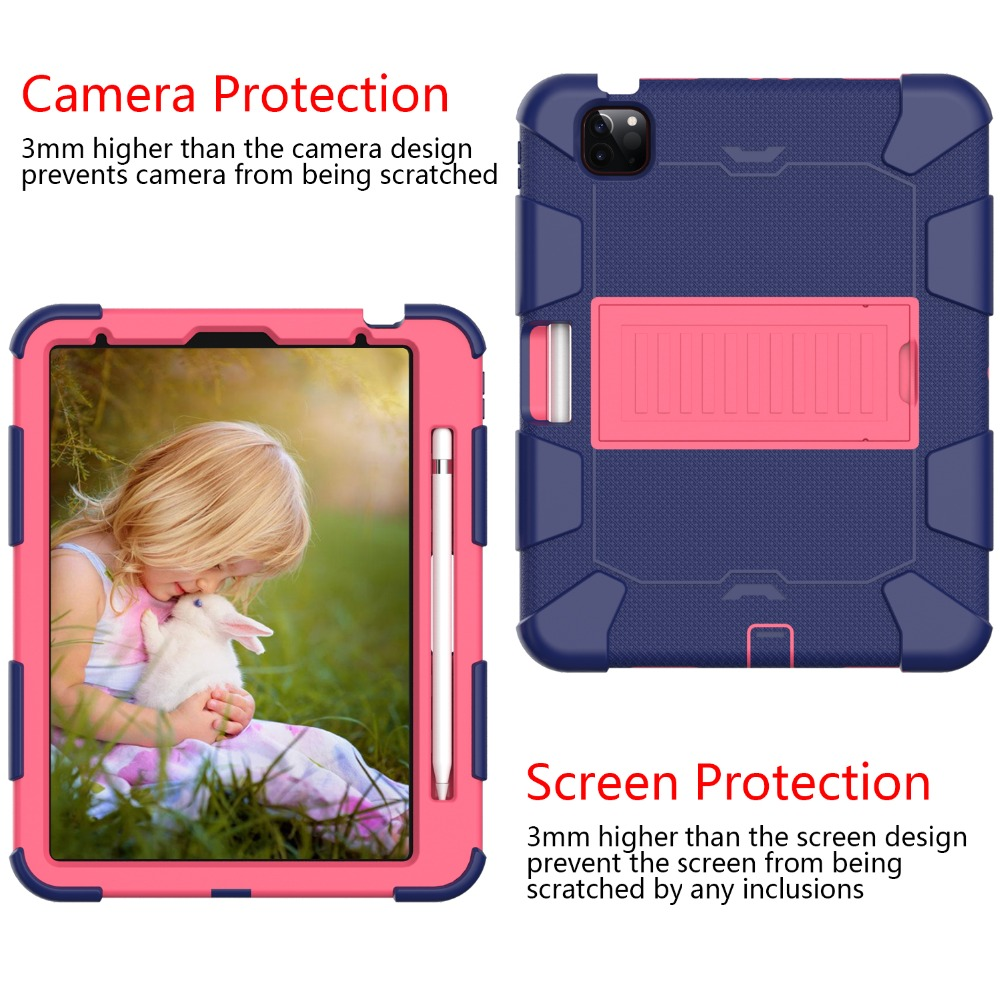 Rugged Tablet PC Air Hybird 2020 Duty Kids Heavy 4 inch Case for iPad Shockproof 10.9