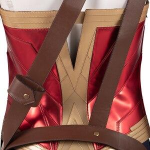 Image 5 - ManLuYunXiao Wonder Woman Cosplay Diana Principe DC Superhero Tute Costume di Halloween per Le Donne Masquerade Outfit Custom Made