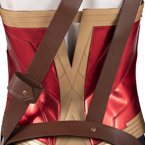 Image 5 - Manluyunxiao Wonder Vrouw Cosplay Diana Prins Dc Superhero Suits Halloween Kostuum Voor Vrouwen Masquerade Outfit Custom Made