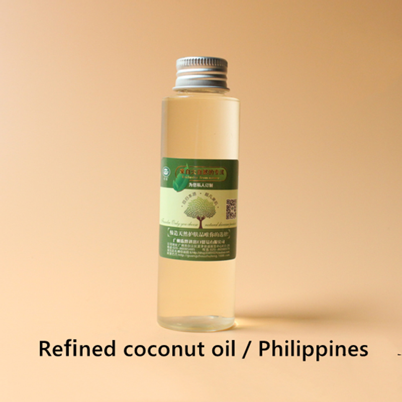 Купить с кэшбэком Philippines high purity coconut oil, acne lauric acid enhances resistance to smooth skin, anti-oxidation, anti-aging whitening.