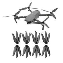 8 Pcs 8743F Carbon Fiber Propeller Voor Dji Mavic 2 Pro Zoom Drone Accessoires Vouwen 3 Blade Props Voor Mavic 2 Vervanging Prop