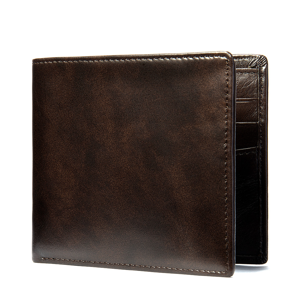 Luxury Designer Mens Wallet Leather Genuine Short Purse Wallet Business Wallets Mens Purses Cowhide Leather Wallets Credit Card