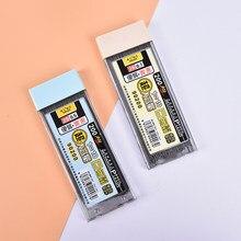 200 pièces/boîte 0.5mm/0.7mm plomb Graphite 2B recharge de crayon mécanique plomb automatique nouveau