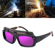 Automatic Dimming Welding Glasses Argon Arc Welding Glasses Welding Glasses Anti-radiation Glare Labor Insurance Glasses