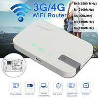 LEORY Portable 300Mbps Wifi Routers 4G lte Mobile Router Support SIM card Portable Wireless Router wifi 4G Router