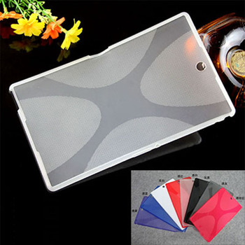 X Line Soft Transparent TPU Gel Case Skin Back Cover For Sony Xperia Z3 Tablet Compact SGP611 SGP621 SGP641 8 inch Tablet PC image