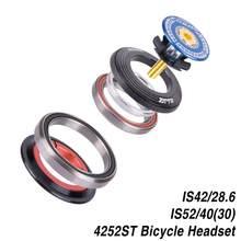 Fone de ouvido da bicicleta 42mm 52mm cnc 1 1/8