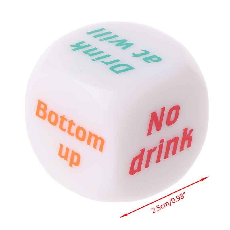 แฟชั่นน่ารักดื่ม Decider เกมลูกเต๋าการพนัน Bar PARTY Pup ของเล่นตลก Xmas