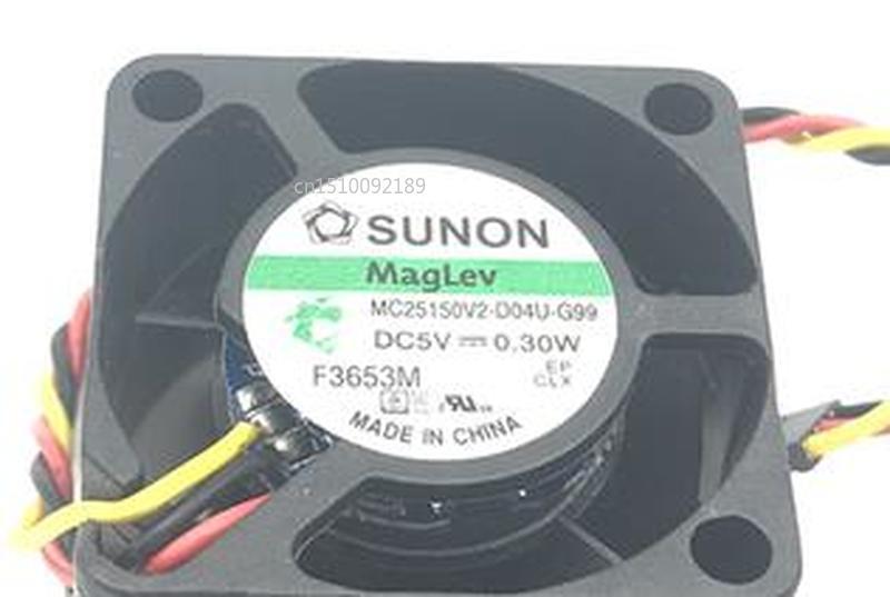For MC25150V2-D04U-G99 2515 5V 0.3W CPU Fan Free Shipping