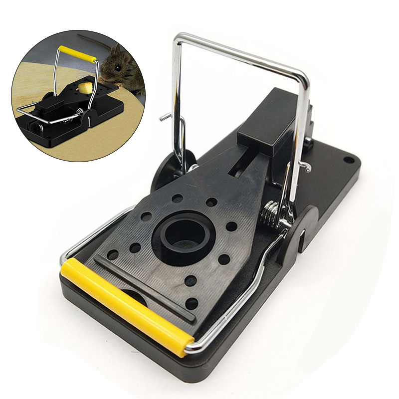 Easy to Release Mouse Trap with Large Stroke Paddles for Catching Rats in Kitchen Bedroom and Basement 5