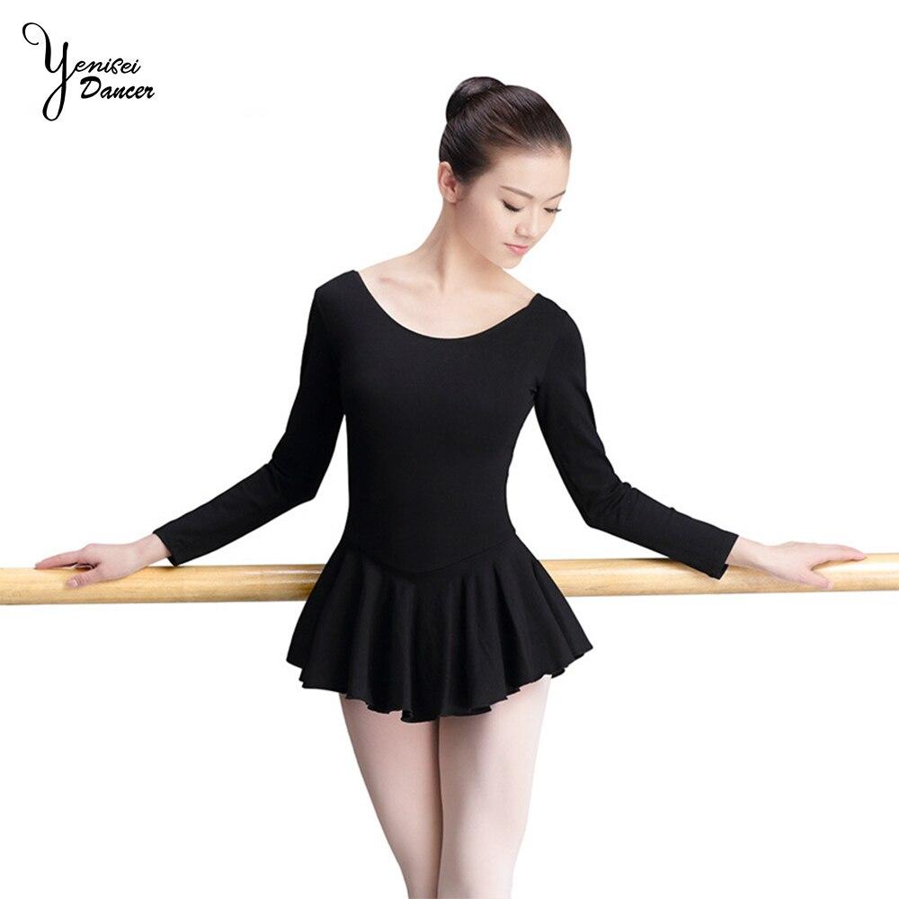TiaoBug Girls Ballet Dance Open Skirt Ballerina Collection Chiffon Skating Over Scarf Tutu Dress with Waist Tie