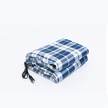 Winter Electric Blanket Multifunction Solid Color Square Household Office Heating Heated Travel Throw For Car Warm