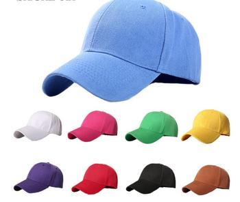 women Plain Baseball Cap women  caps Classic Style hat Casual Sport Outdoor Adjustable cap fashion unisex