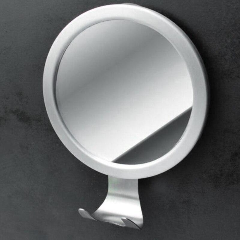 Meilleur rétroviseur de douche avec crochet de rasoir rasage parfait sans brouillard pour la vue du visage, ventouse de verrouillage forte, ne convient pas pour F