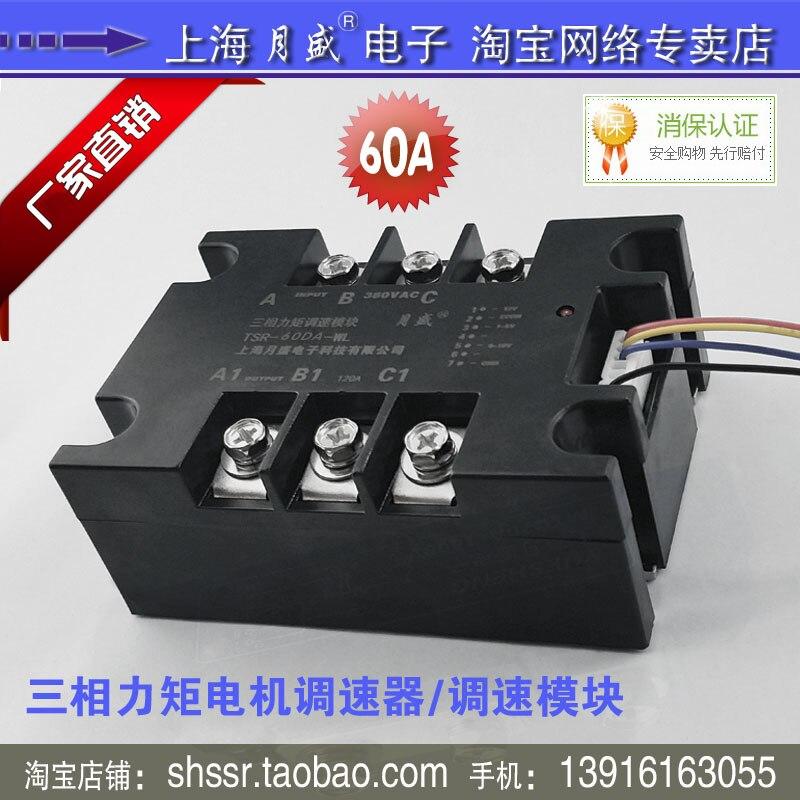 Torque motor speed control module/control module TSR-60DA-WL(60A) (Module only)