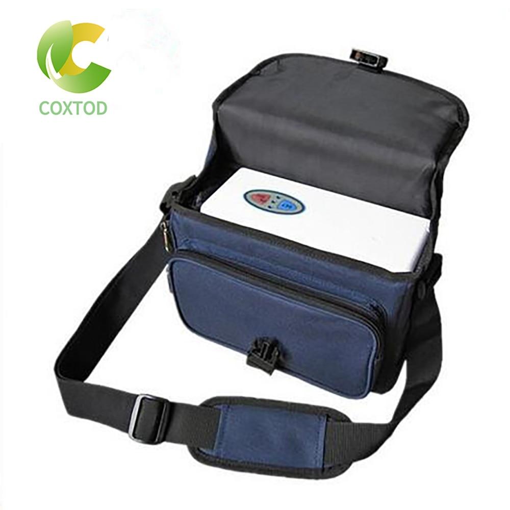 COXTOD 2 batterien luftreiniger mini tragbare sauerstoff generator TRAGBARE SAUERSTOFF KONZENTRATOR GENERATOR HOME Batterie Oxygenator