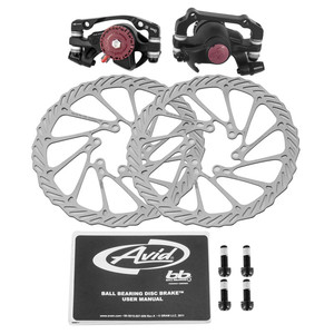 Pinzas de freno de disco de línea de bicicleta AVID BB7/BB5, juego de freno de disco de bicicleta de montaña con rotores