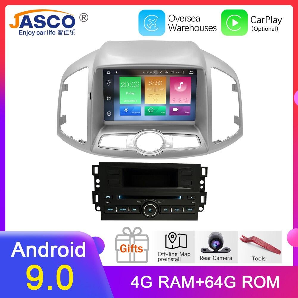 4G RAM Android 9.0 voiture DVD stéréo pour Chevrolet Captiva Epica 2012 2013 2014 2015 Auto Radio GPS Navigation multimédia Audio